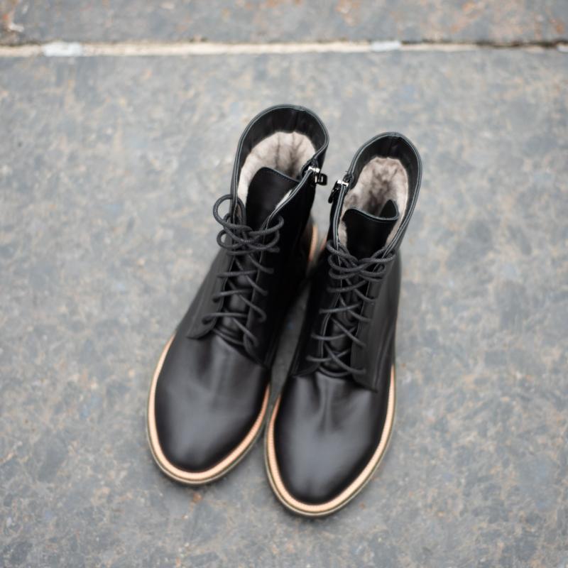 Ботинки с мехом photo - 2