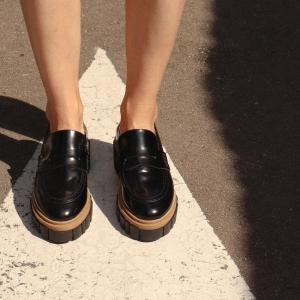 Лоферы Jess черные... фото-2