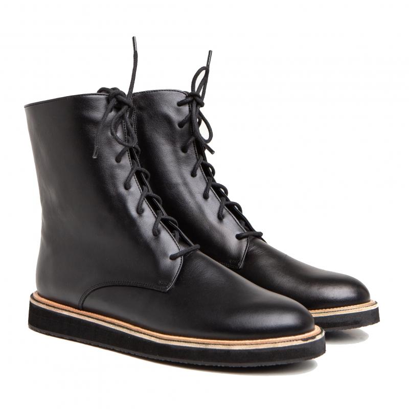 Ботинки с мехом photo - 1