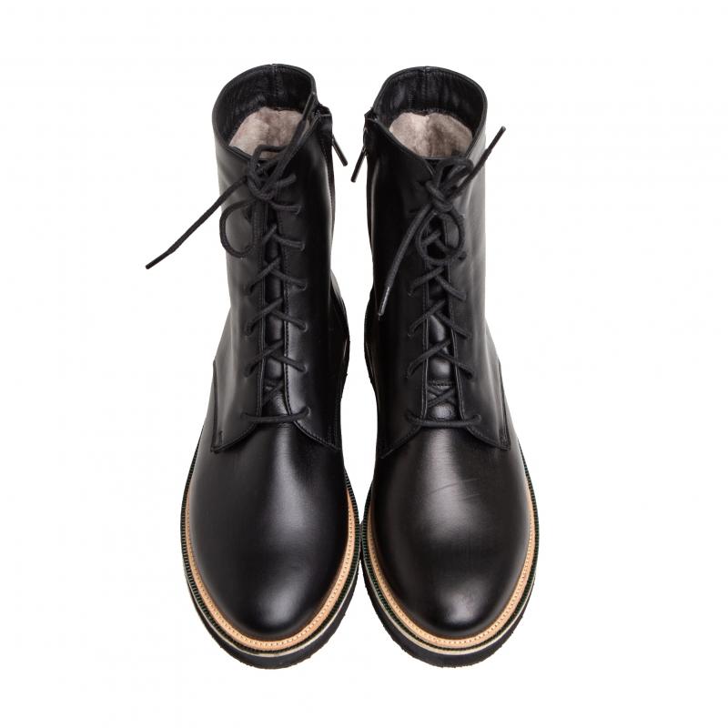 Ботинки с мехом photo - 3