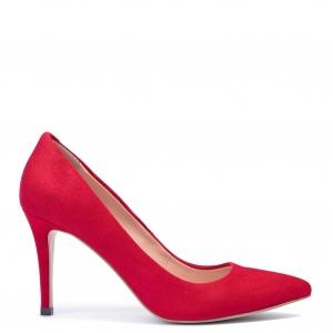Лодочки красные 8.5 см